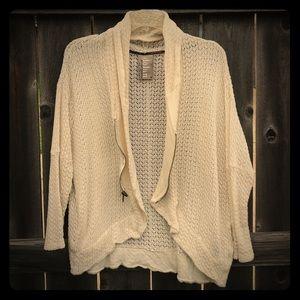 Dolan Left Coast knit zip up cardigan